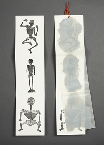 Ghosts & Skeletons - reverse side