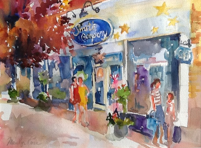 Shopping on the Avenue  (SOLD)