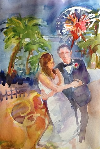 Santa Monica Wedding  (SOLD)