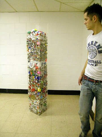 Bottle Cap Tower