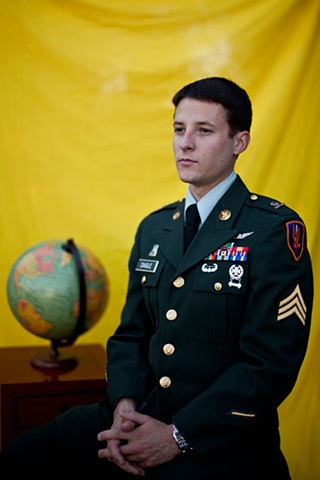 Military Portrait - Christopher Daigle