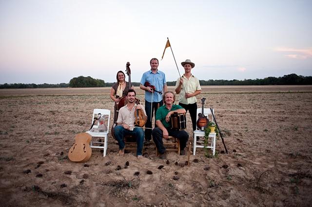 Jesse Legge, Joel Savoy, and Caleb Klauder Country Band