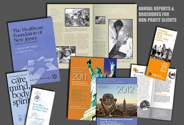 Annual Reports and Brochures for Non-Profits