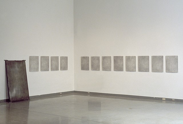 Background Noise  (installation view - before)