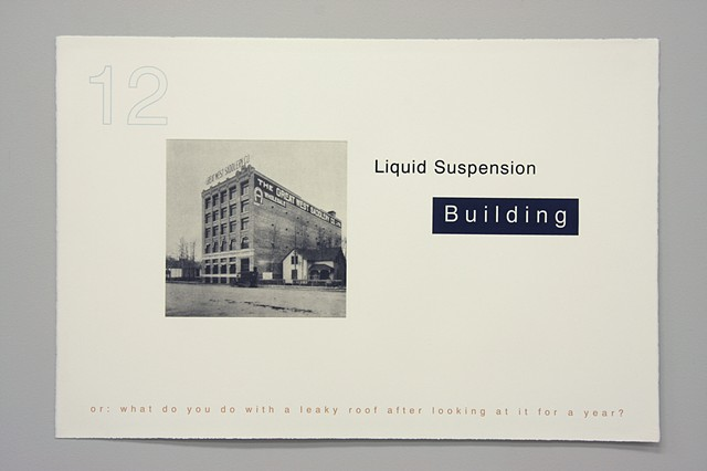 Building, title page
