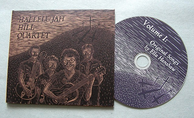 Hallelujah Hill CD artwork by Aijung Kim