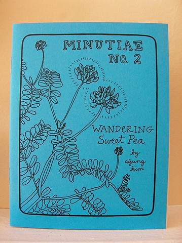 "Minutiae No. 2 ""Wandering Sweet Pea"" Zine by Aijung Kim www.sprouthead.etsy.com"
