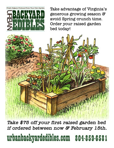 Urban Backyard Edibles Flyer