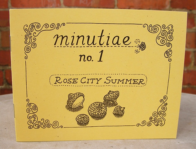 "Minutiae No. 1 ""Rose City Summer"" Zine by Aijung Kim www.sprouthead.etsy.com"