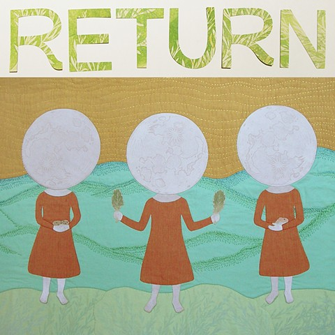 Return: Prints and Stitched Works