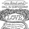 One Kind Word - Love Poster