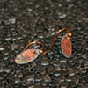 SOLD  fire patina ovals