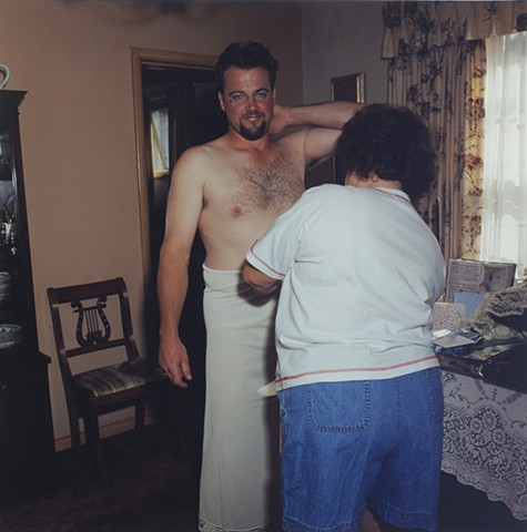 MaryAnne and Paul, July 4th, Eveleth, Minnesota 1998