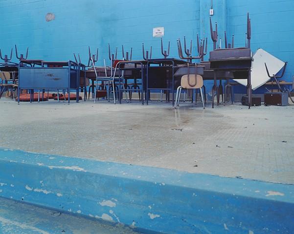 Natatorium, White Pine School, Closed 2003, White Pine, Michigan 2003