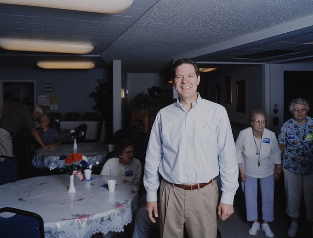 Senator Brownback at Moundview Manor, Marion, Iowa.  June 11, 2007.  Withdrew October 19, 2007