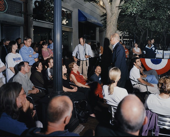 """Joe Biden Meets with the Gay Community"", Iowa City, Iowa.  July 2, 2007"