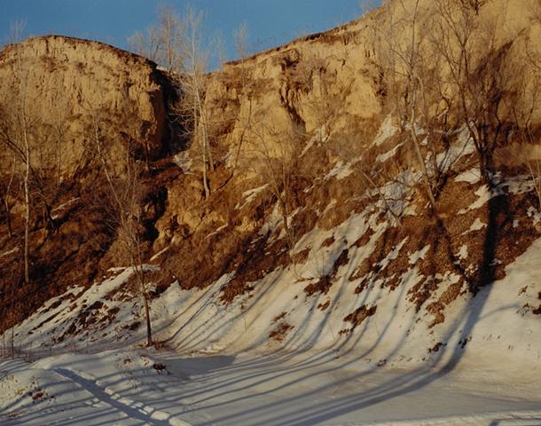 Devil's Slide, Behind Mo's House, Missouri Valley, Harrison County, Iowa 2001