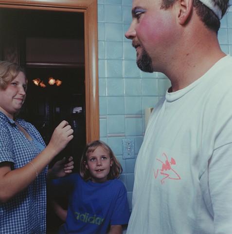 Jamie, Kara and Paul, Eveleth, Minnesota 2000