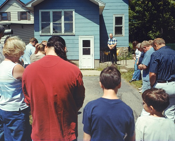 Dedication, Habitat for Humanity Project, Eveleth, Minnesota 2004