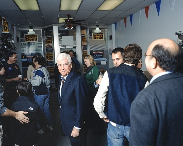 Marshalltown House Party for Chris Dodd, Marshall County Democratic  Headquarters. November 11, 2007