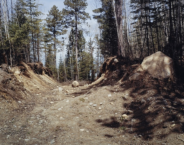 Track With Rock, North of Babbitt, Minnesota 2002