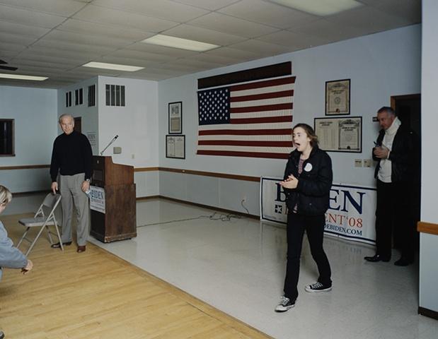 Joe Biden Meet and Greet, American Legion Post 73, Tama, Iowa, December 8, 2007.