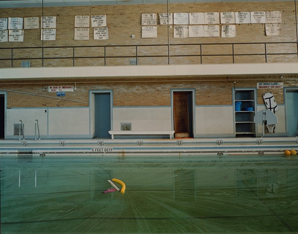 Natatorium, V.C. Reishus School, Closed 2003, Biwabik, Minnesota 2003