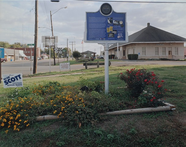 Blues Marker, Shelby, Mississippi 2016