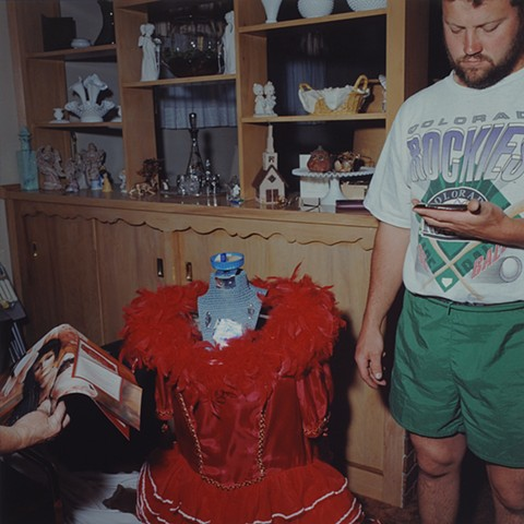 Paul's new dress, Eveleth, Minnesota 1997