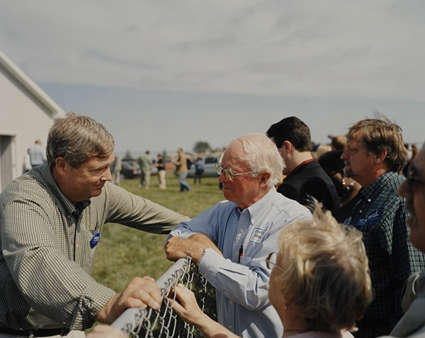 Former Iowa Governor Tom Vilsack first announced Democratic candidate for the nomination and first to withdraw at Senator Tom Harkin's Annual Steak Fry, Indianola, Iowa. September 16, 2007
