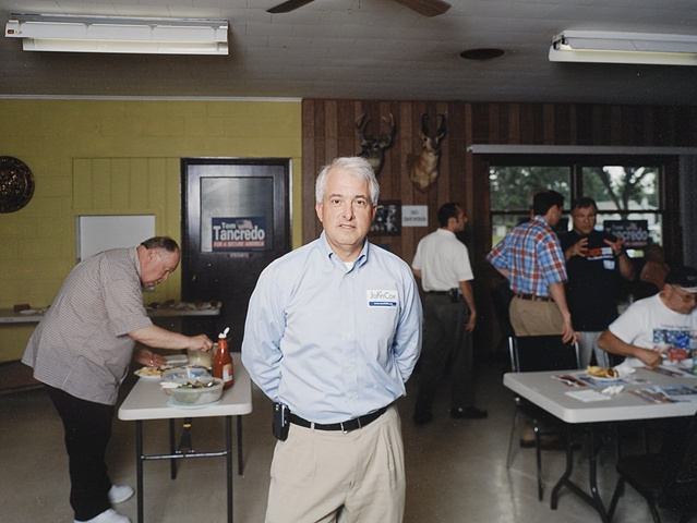 "John Cox, Dubuque County GOP Picnic, Dubuque, Iowa. June 24, 2008. Conceded that his nomination was a ""lost cause"", December 19, 2007"