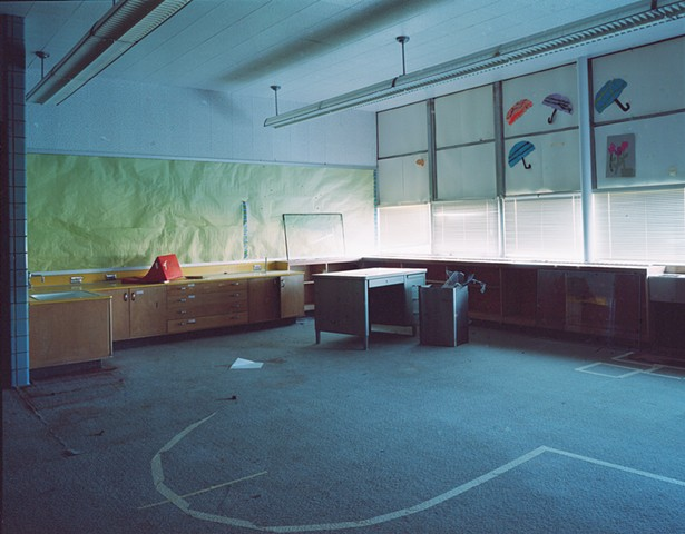 Gertrude Boase Grade School, Closed 2002, Hoyt Lakes, Minnesota 2003