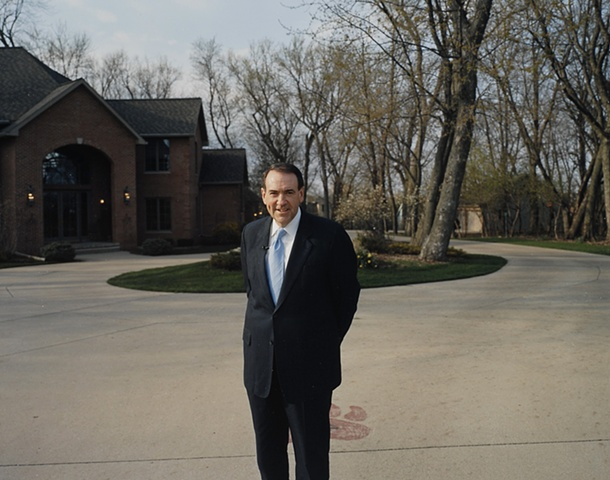 Mike Huckabee at a reception sponsored by the Iowa Christian Alliance, Saul House.  Cedar Falls, Iowa.  April 27, 2007.  Withdrew March 4, 2008