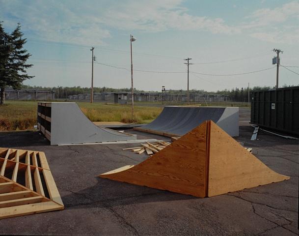 TrueRide Skate Park Inc., Former BOMARC Cruise Missile Site, Duluth, Minnesota 2003