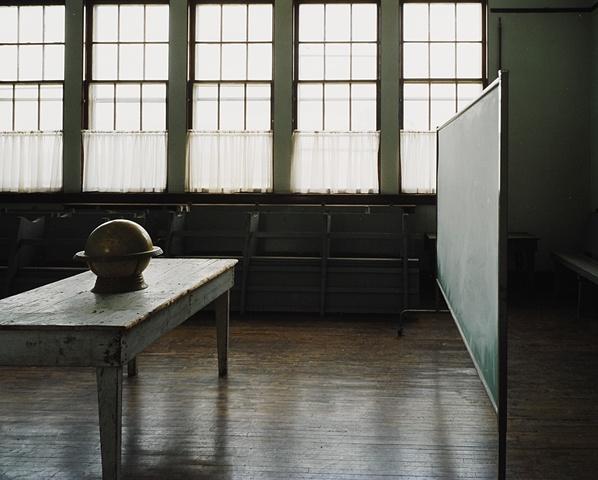 Alkabo School, Closed 1971, Alkabo, North Dakota  2003