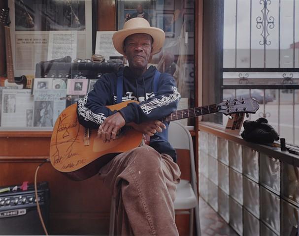 Pat Thomas, Highway 61 Blues Museum, Leland, Mississippi 2016