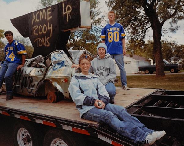 Homecoming Parade, Lake Preston, South Dakota 2003