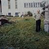 Boris Outside His Studio 2006