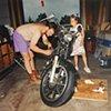 Paul and Jamie, Eveleth, Minnesota 1995