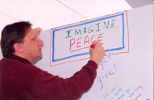 collaborative civil engagement public art project with community by Joe LaMantia