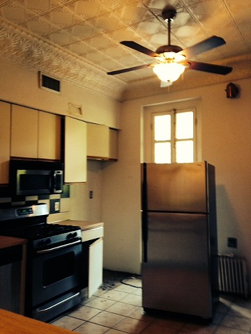 French Country Kitchen Before photo 1