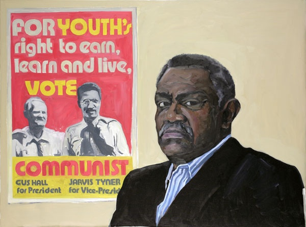 Yevgeniy Fiks: Portrait of Jarvis Tyner, Communist Party USA