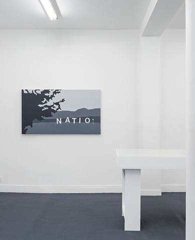 Landscapes of the Jewish Autonomous Region, installation shot 4