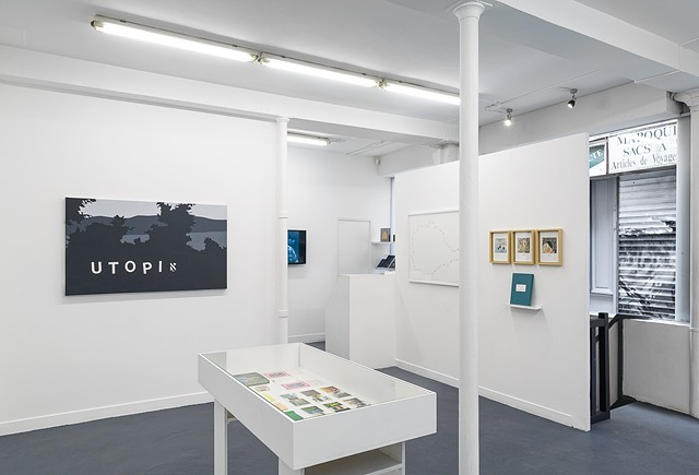 Landscapes of the Jewish Autonomous Region, installation shot 10