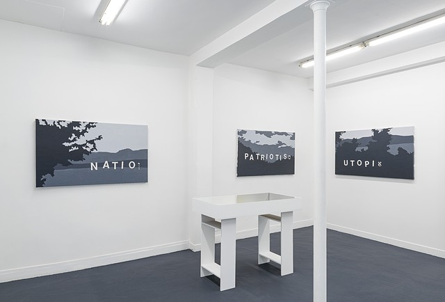 Landscapes of the Jewish Autonomous Region, installation shot 2