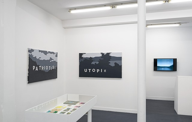 Landscapes of the Jewish Autonomous Region, installation shot 13
