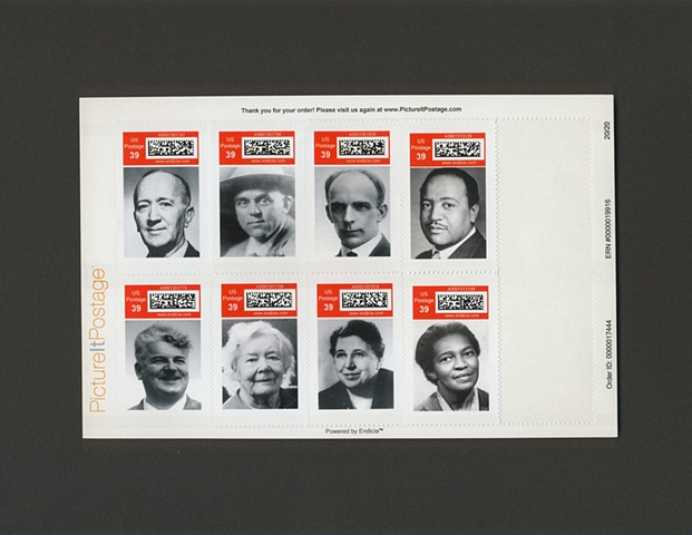 Communist Party USA Commemorative Stamps, 2007-2008