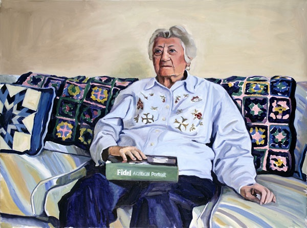 Yevgeniy Fiks: Portrait of Estelle Katz, Communist Party USA