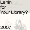 Lenin for Your Library?