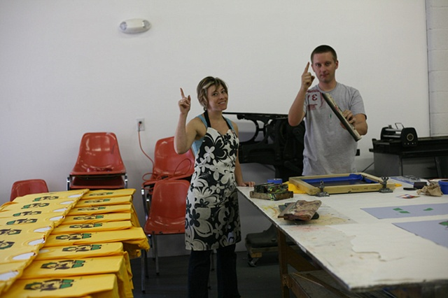 Team VE-OLAH... we're #1 when it comes to screen printing.
